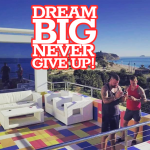 never give up dream big UK entrepreneur business